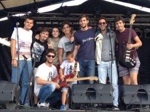 En Laredo, con la Royal Flash Band, 2014