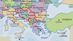 Mapa ex yugoslavia